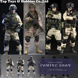 CrazyFigure LW003 LW004 LW005 LW006 1/12 soldado militar de los EE. UU.