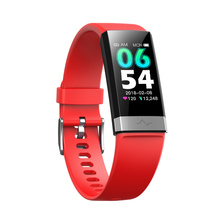 V19 ECG +PPG Smart Bracelet Blood Oxygen Sleep Monitoring Bluetooth Various Dials Fashion Big Screen Sports