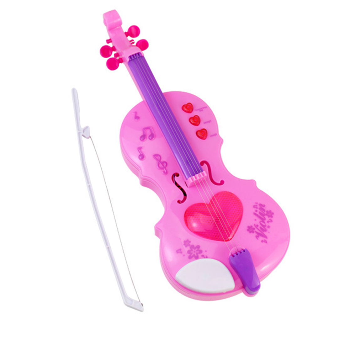 2019 Hot Sale Simulation Children Violin Toy Musical Instruments Learning Educational Toy Christmas Gifts For Children Kids Girl