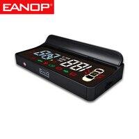 EANOP-proyector de velocidad para coche modelo 3 S Y X, dispositivo de visualización de cabeza hacia arriba con luz giratoria, guía de engranaje, batería, accesorio para tesla, E100