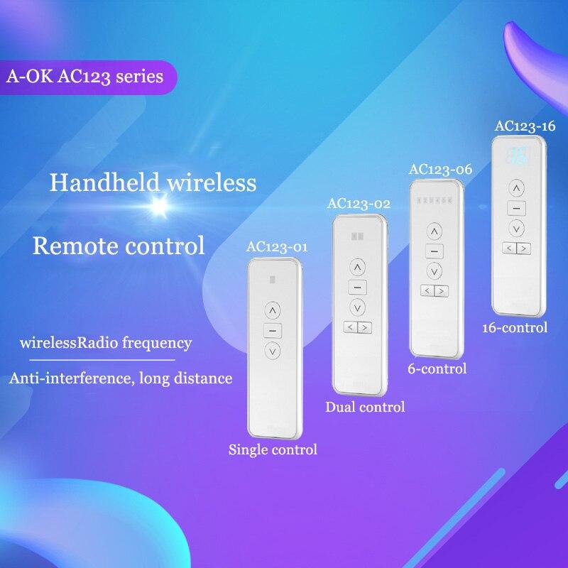 Original Aoke D Electric Curtain Remote Control, Multi-channel Remote Control Smart Home Preferred