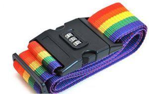 1PCS Travel Luggage Straps Belt Protective Adjustable Nylon Password Lock Suitcase Packing Belt Travel Accessories