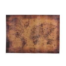 vinilo mapa mundi RETRO VINTAGE