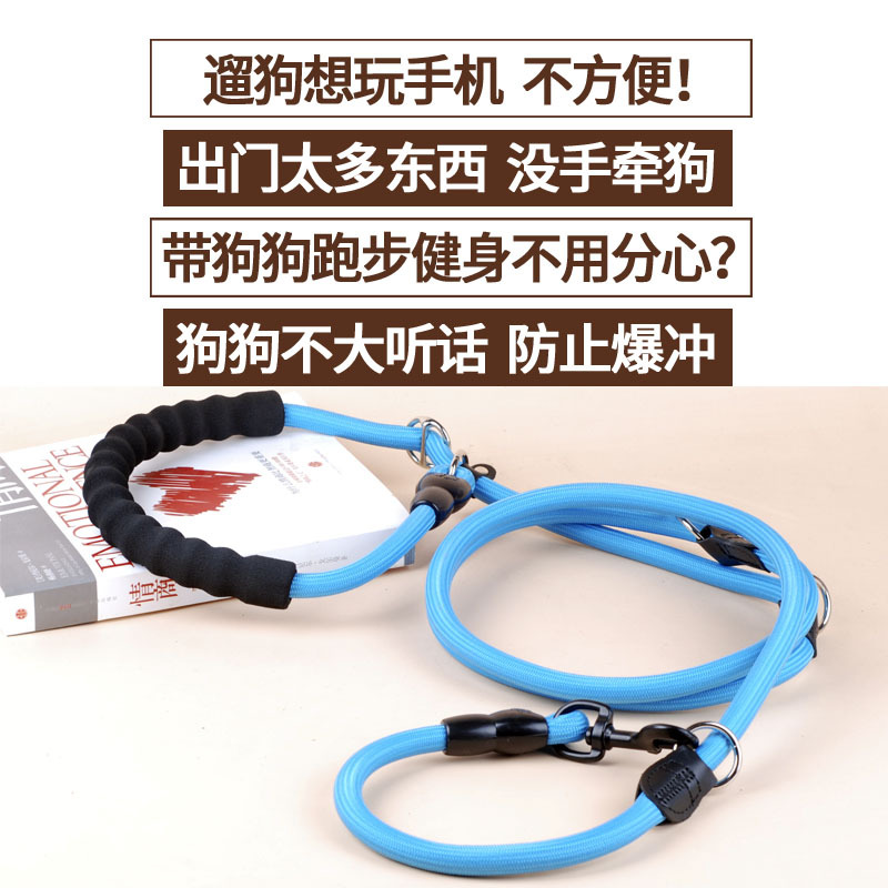 Multi-functional Training Dog P Pendant Medium-sized Dog Large Dog Golden Retriever Labrador Husky Dog Leash Dog Pendant Sub-