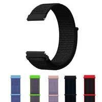 18mm sport strap for Fossil Gen 4 Q Venture HR / Gen 3 Q Venture Smartwatch Nylon bracelet strap band for Huawei honor S1 belt