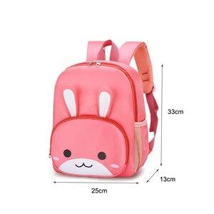 Girl cute Backpack School Bags Kindergarten Animal Toddler Girl rabbit Design Kids Children New Junior School Bag 2020 new
