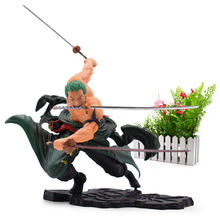 купить Anime One Piece 18cm Roronoa Zoro SA-MAXIMUM Ver. PVC Action Figure Collection Model Toys дешево