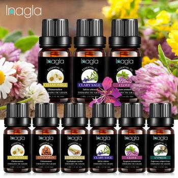 Inagla 10ML szałwia szałwia jaśminowa olejki eteryczne 100 czyste naturalne czyste olejki eteryczne do aromaterapii dyfuzory olej do domu pielęgnacja powietrza tanie i dobre opinie Jedna jednostka Czysty olejek eteryczny CN (pochodzenie) Essential oil Clary Sage CHINA 1 x Essential Oil Aromatherapy Massage Spa Bath Fragrance