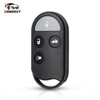 Dandkey 10/20/30pcs 4 Buttons Remote Key Shell Case Fit For Nissan Maxima I30 QX4 A32 A33 Blank Auto Replacement Car Key Cover