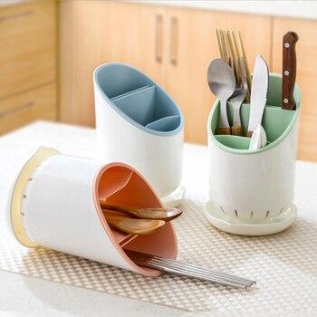 Wysokiej jakości ABS + PP Opróżnianie Rack Szybkie pranie spustowy Kontenery Pałeczki Zastawa Storage Rack spustowy Holder Kreacja Narzędzia kuchenne