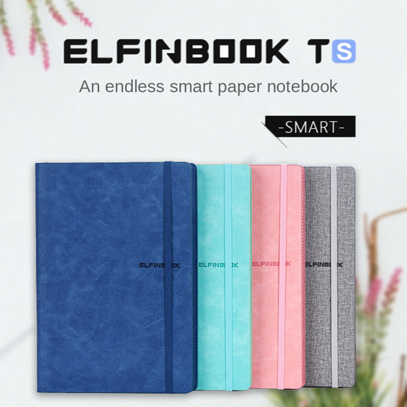 Smart Reusable Erasable Notebook A4 Leather App Backup Repeated Writing Business Pocketbook Office School Drawing Gift NEW