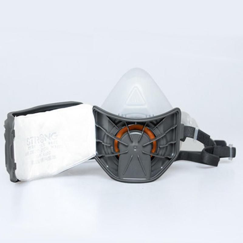 Filter Half Face Dust Gas Mask KN95 Filter element Respirator Safety Protective Mask Anti Dust Organic Vapors PM2.5 Fog 3