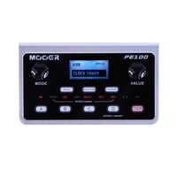 MOOER PE100 Multi-effetti Processore Chitarra Effetti A Pedale 39 Tipi di Effetti per Chitarra Pedale 40 Pattern di Batteria 10 Metronomes Rubinetto tempo
