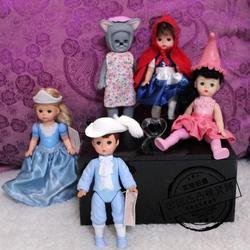 Bonito raro alexander boneca cinderela alice pouco vermelho equitação capô crianças brinquedos presente de aniversário coleção