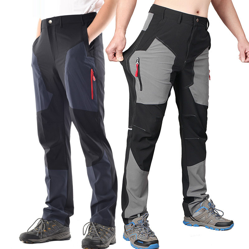 VZTEEK Secado r/ápido Pantalones de Senderismo para Hombre