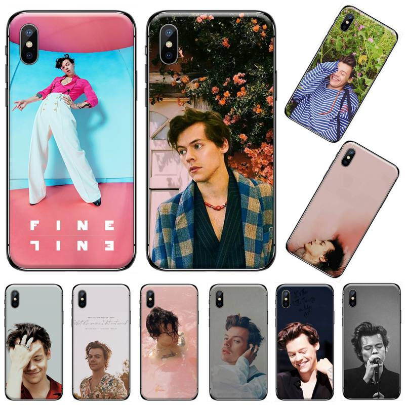 Harry Styles Singer actor <font><b>boy</b></font> Coque Shell Phone <font><b>Case</b></font> <font><b>For</b></font> <font><b>iphone</b></font> <font><b>5</b></font> 5s 5c se 6 6s 7 8 plus x xs xr 11 pro max image
