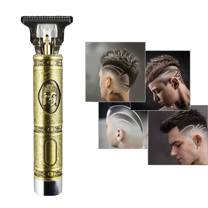 Electric Pro Li Liner Grooming Cordless Cutting T-Blade Trimmer Men's Electric Hair Clippers Adult Razors Clippers Dropship
