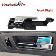 Lado direito dianteiro do passageiro do punho da porta interior de chrome para ford fusion 6e5z 5422600 aa