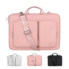 laptop bag  shoulder bag for laptops 13.3 14 15.6 16 with a cover for macbook air pro  handbag for women and men.