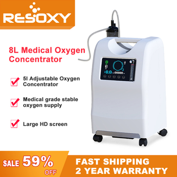 8l Oxygen  Concentrator Doctor Recommends Medical Home Oxygen Concentrator Generator Cooperate Ventilator For To Treat Coronavir