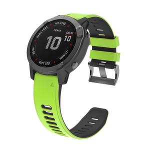 Image 3 - 22 26MM Release Quick Watchband for Garmin Fenix 6 6S 6X Pro 20mm Silicone Easyfit Wrist Band For Fenix 5 5S 5X Plus Watch Strap