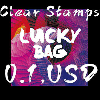 2019-2020 0.1usd lucky bag special offer Transparent Clear stamps Silicone Stamp/Seal DIY scrapbooking/photo clear stamp sheets image