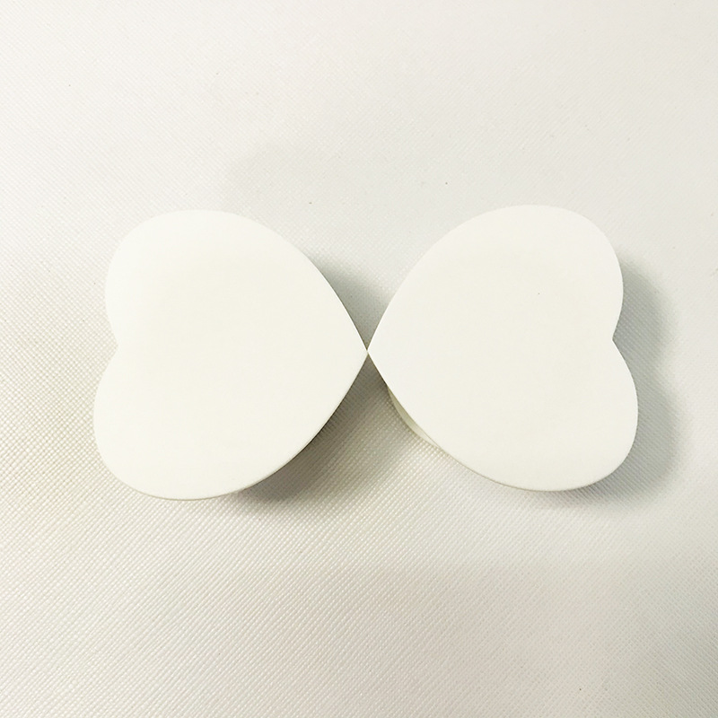 1piece Heart Blank Material Mobile Phone Folding Stretch Airbag Bracket Phone Holder Balloon Support