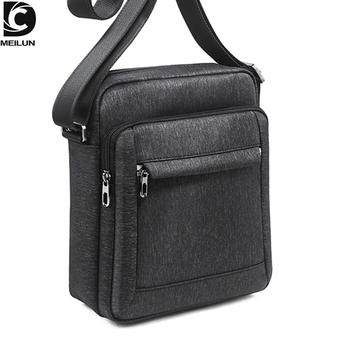 DC.meilun Shoulder Bag Male High Quality Waterproof Leisure Sports Crossbody bags For Men Fashion Oxford Messenger Bags a536 augur high quality male canvas messenger bag waterproof 15 large travel shoulder crossbody bags for men s classic laptop bags
