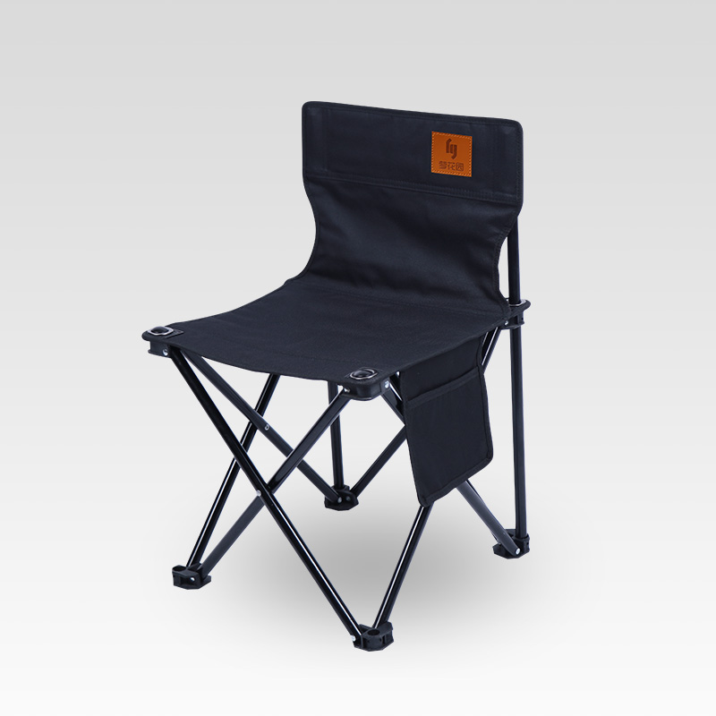 Amicable Outdoor Camping Chair Portable Folding Stool Fishing Chair Leisure Barbecue Courtyard Four Seasons Suitable Folding Chair Price Remains Stable