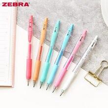 Caneta gel para escrita com base à água, caneta japonesa de zebra sarasa jj15, série pastel, 1 peça & material escolar