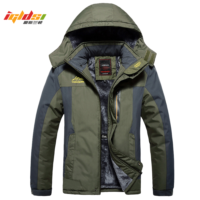 Winter Military Jackets Men Fleece Coats Windproof Waterproof Windbreaker Outwear Down Parka Army Raincoat Plus Size 7XL 8XL 9XL 1