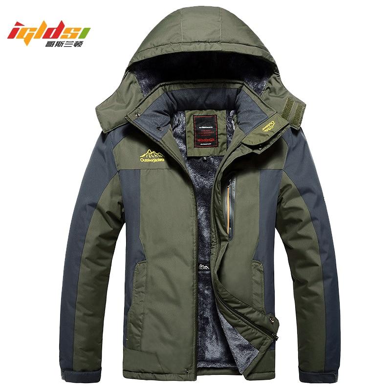 Winter Military Jackets Men Fleece Coats Windproof Waterproof Windbreaker Outwear Down Parka Army Raincoat Plus Size 7XL 8XL 9XL 1