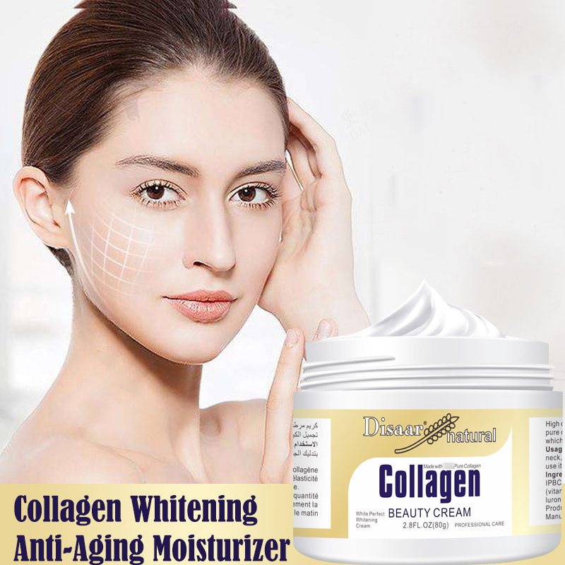 Disaar Collagen Power Lifting Cream 80g Face Cream Skin Care Whitening Moisturizing Anti-aging Anti Wrinkle Korean Facial Cream