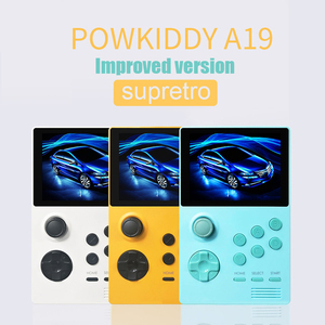 POWKIDDY A19 Pandora's Box Android supretro handheld game console IPS screen built-in 3000+games 30 3D new games WiFi download