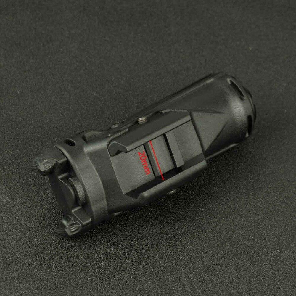 Tático xh15 pistola luz led lanterna rápida