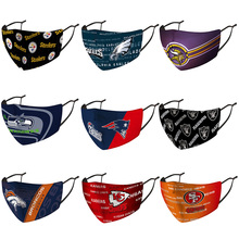 Face-Mask Raiders Steelers Football-Team Logo Washable Adult Sports Flag Rugby Club Windproof