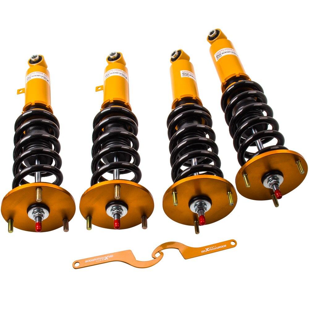 4pc Coilovers For Toyota Supra JZA70 MA70 GA70 86-92 Shock Struts 24 Ways Damper