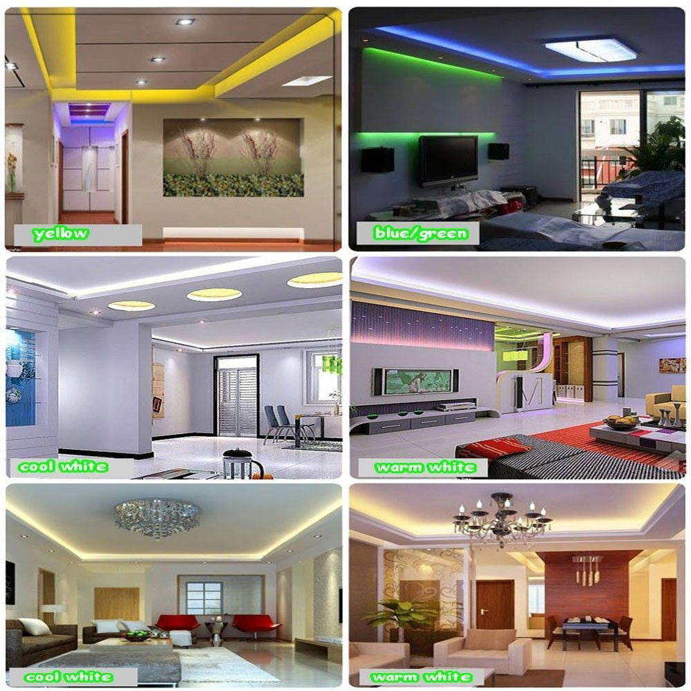 Advertisement - MagicLight™ High-quality 3528 SMD Ultrabright 16 Color Flexible LED Light Strips with Remote