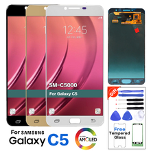 Amoled For Samsung C5 C5000 SM C5000 lcd display Screen replacement for Samsung Galaxy C5 SM C5000 display lcd screen module