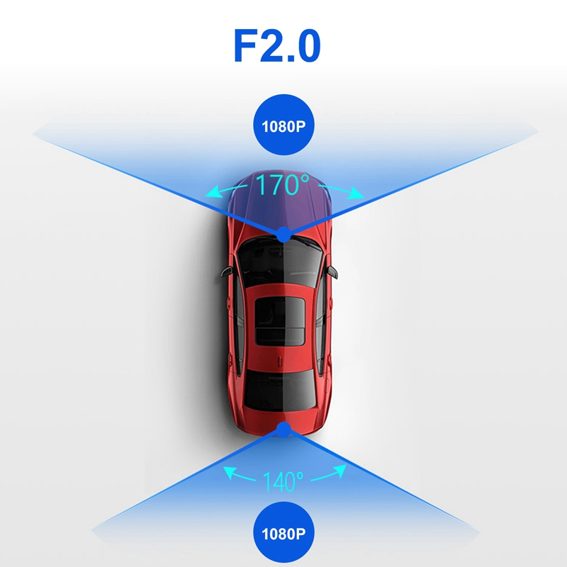 Android 8.1 Car DVR GPS Navigator Camera 10Inch FHD 1080P Stream Media Rear View Mirror 4G GPS Mirror Dash Cam Recorder ADAS Wif - 2