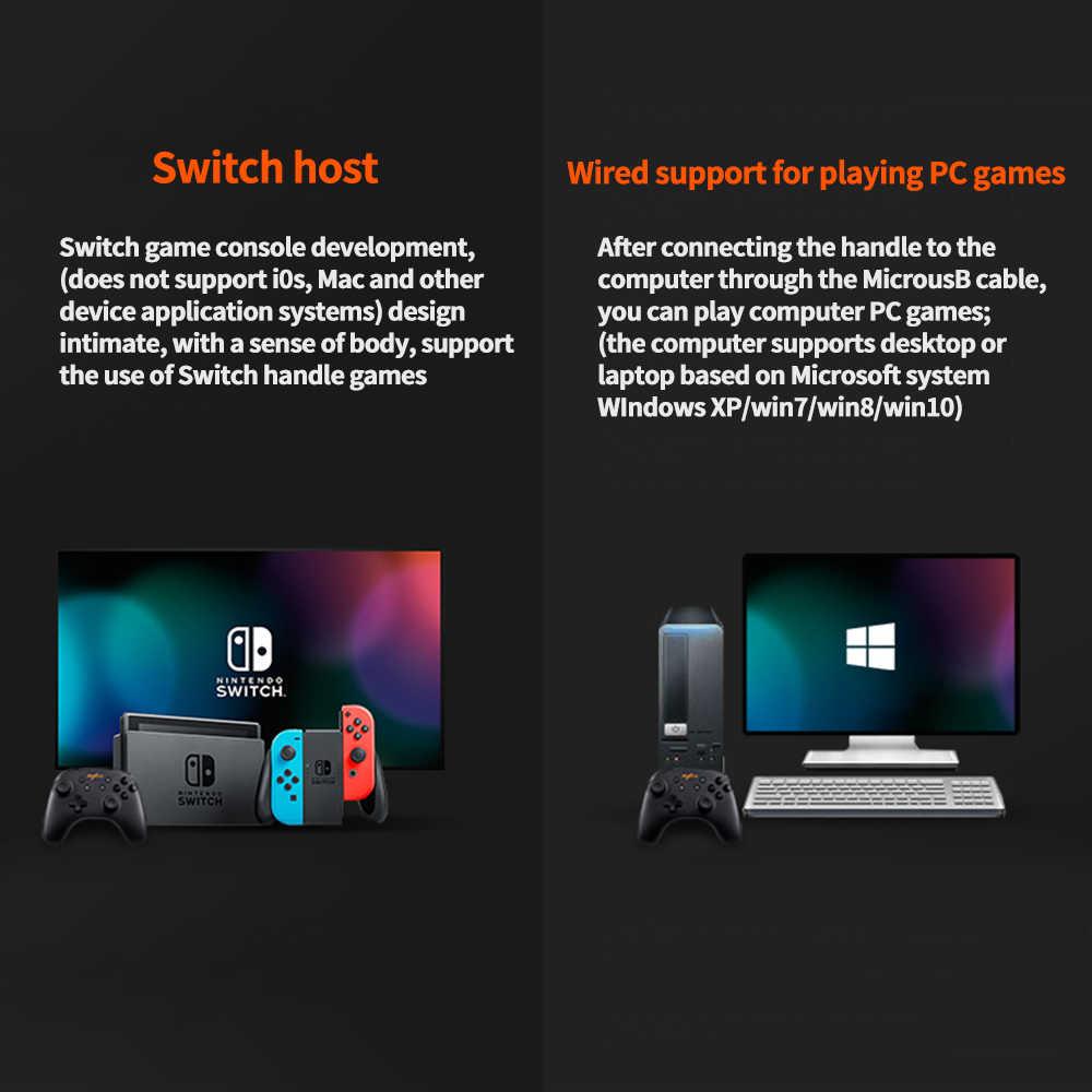 Bluetooth геймпад, джойстик для Nintendo Switch Nitendo, ПК, игровая консольная панель, контроллер, USB управление, джойстик, триггер, мандо