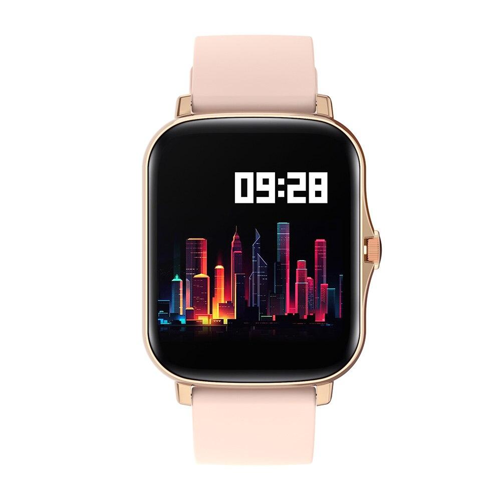 H0424396675674403b8346756ab4e4ff76 COLMI P8 Plus 1.69 inch 2021 Smart Watch Men Full Touch Fitness Tracker IP67 waterproof Women GTS 2 Smartwatch for Xiaomi phone