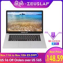 ZEUSLAP 15.6inch Intel Quad Core CPU 4GB Ram 64GB EMMC Windows 10 System 1920*1080P FHD Screen Netbo