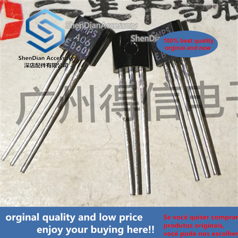 30pcs 100% Orginal New MPSA06 A06 TO-92 Amplifier Transistors Real Photo