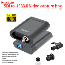 USB3.0 60FPS Sdi Video Capture Card Sdi Naar Usb 3.0 2.0 Video Opname Box Adapter Dongle Game Live Streaming Broadcast voor Obs
