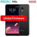Оригинал, Meizu M6s mblu S6 глобальная прошивка Exynos 7872 гекса, четыре ядра, 3 ГБ, 64 ГБ 5,7