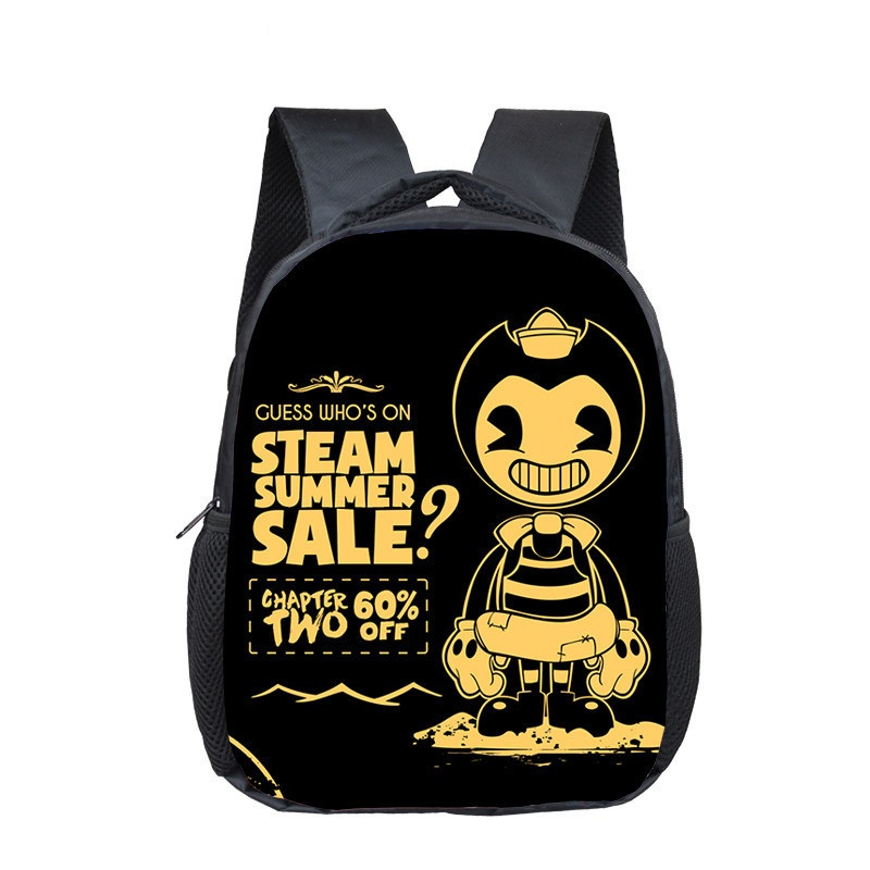Bendy And The Ink Machine Backpack For Teens Back To School Bags Student Bookbag Daily Backpack Mochilas Notebook Bag