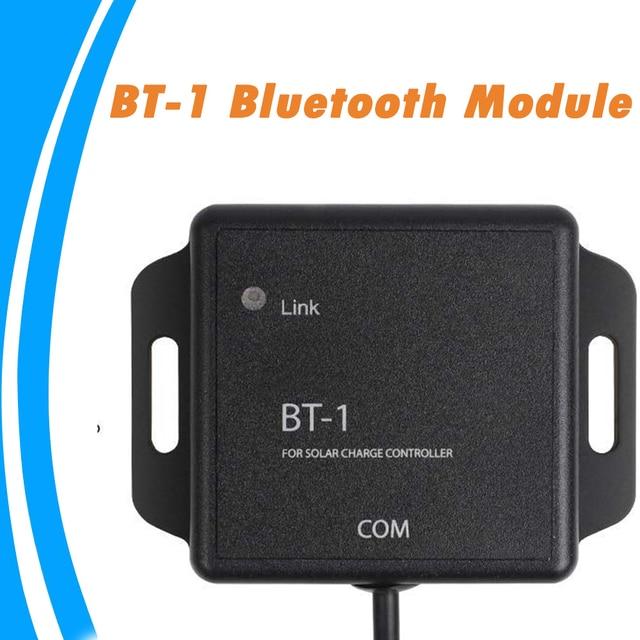 مقاوم للماء MPPT الشمسية جهاز التحكم في الشحن BT 1 وحدة بلوتوث 5 فولت 12 فولت IP67 اللاسلكية رصد الشمسية PV نظام ل ML تحكم