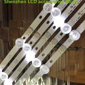 "Image 4 - 10 יח\חבילה משמש חלק מקורי 42 ""LED רצועת עבור PANASONIC TX 42B6B 42"" LED טלוויזיה LC420DUE (SF) (R2) 6916L 1340A R1 + L1 = 824MM 100% חדש"