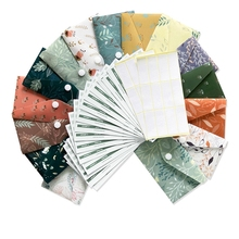 Cash-Envelope-System Budgeting 24-Stickers 15-Budget-Sheets Plastic Reusable Waterproof